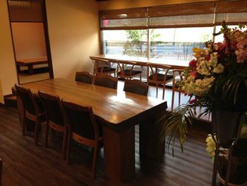 テーブル(6名さま)
